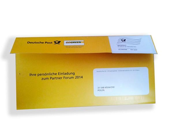 6mailing promocyjny dla Deutsche Post